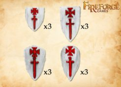 Fireforge Games Livonian Shields