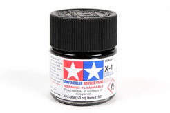 Tamiya Acrylics 10ml - X-1 Black
