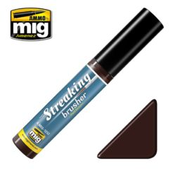 Mig Ammo Streakingbrusher - Red Brown